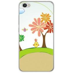 Funda Gel Tpu para Xiaomi Redmi Note 5A Diseño Primavera Dibujos