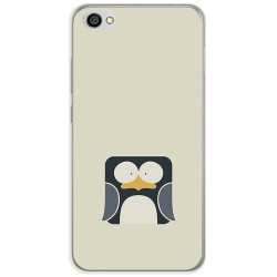 Funda Gel Tpu para Xiaomi Redmi Note 5A Diseño Pingüino Dibujos