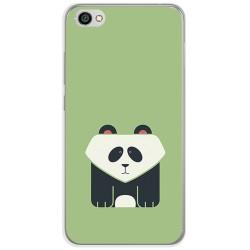 Funda Gel Tpu para Xiaomi Redmi Note 5A Diseño Panda Dibujos