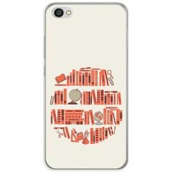 Funda Gel Tpu para Xiaomi Redmi Note 5A Diseño Mundo Libro Dibujos