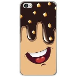 Funda Gel Tpu para Xiaomi Redmi Note 5A Diseño Helado Chocolate Dibujos
