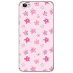 Funda Gel Tpu para Xiaomi Redmi Note 5A Diseño Flores Dibujos