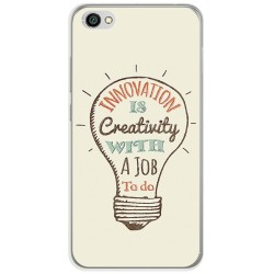 Funda Gel Tpu para Xiaomi Redmi Note 5A Diseño Creativity Dibujos