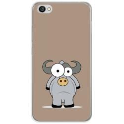 Funda Gel Tpu para Xiaomi Redmi Note 5A Diseño Toro Dibujos