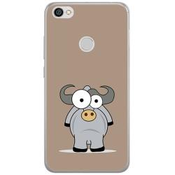 Funda Gel Tpu para Xiaomi Redmi Note 5A Pro / 5A Prime Diseño Toro Dibujos