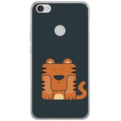 Funda Gel Tpu para Xiaomi Redmi Note 5A Pro / 5A Prime Diseño Tigre Dibujos