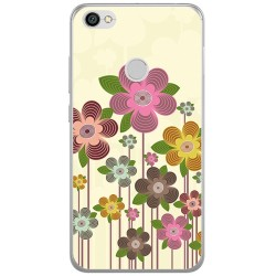 Funda Gel Tpu para Xiaomi Redmi Note 5A Pro / 5A Prime Diseño Primavera En Flor  Dibujos