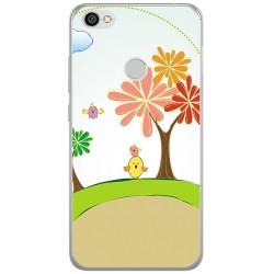 Funda Gel Tpu para Xiaomi Redmi Note 5A Pro / 5A Prime Diseño Primavera Dibujos