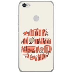 Funda Gel Tpu para Xiaomi Redmi Note 5A Pro / 5A Prime Diseño Mundo Libro Dibujos