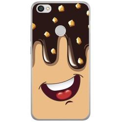 Funda Gel Tpu para Xiaomi Redmi Note 5A Pro / 5A Prime Diseño Helado Chocolate Dibujos