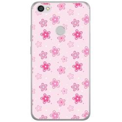 Funda Gel Tpu para Xiaomi Redmi Note 5A Pro / 5A Prime Diseño Flores Dibujos