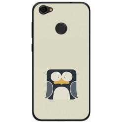 Funda Gel Tpu para Zte Blade A6 Diseño Pingüino Dibujos