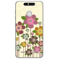 Funda Gel Tpu para Zte Blade V8 Mini Diseño Primavera En Flor Dibujos