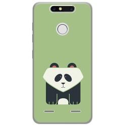 Funda Gel Tpu para Zte Blade V8 Mini Diseño Panda Dibujos