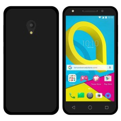Funda Gel Tpu para Alcatel U5 (3G) Color Negra