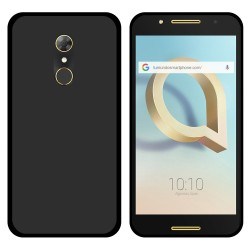Funda Gel Tpu para Alcatel A7 (4G) Color Negra