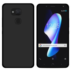 Funda Gel Tpu para Bq Aquaris V Plus / Vs Plus Color Negra