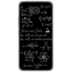 Funda Gel Tpu para Bq Aquaris U2 / U2 Lite Diseño Formulas Dibujos