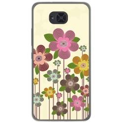 Funda Gel Tpu para Bq Aquaris U2 / U2 Lite Diseño Primavera En Flor  Dibujos