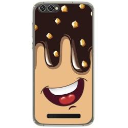 Funda Gel Tpu para Doogee X30 Diseño Helado Chocolate Dibujos