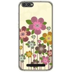 Funda Gel Tpu para Doogee X30 Diseño Primavera En Flor  Dibujos
