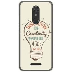 Funda Gel Tpu para Wiko View Diseño Creativity Dibujos