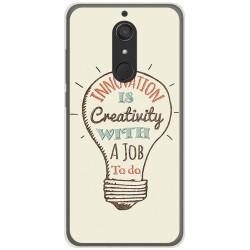Funda Gel Tpu para Wiko View XL Diseño Creativity Dibujos