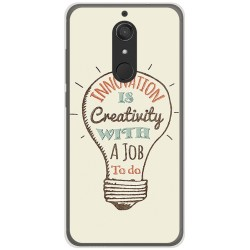Funda Gel Tpu para Wiko View XL Diseño Creativity Dibujos