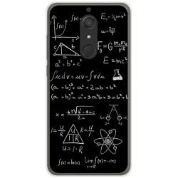 Funda Gel Tpu para Wiko View XL Diseño Formulas Dibujos
