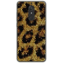 Funda Gel Tpu para Wiko View XL Diseño Leopardo Dibujos