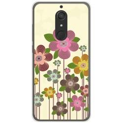 Funda Gel Tpu para Wiko View XL Diseño Primavera En Flor Dibujos