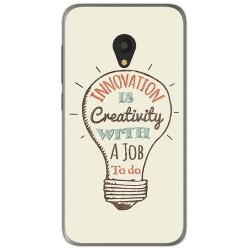 Funda Gel Tpu para Alcatel U5 (3G) Diseño Creativity Dibujos