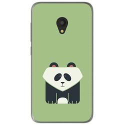 Funda Gel Tpu para Alcatel U5 (3G) Diseño Panda Dibujos