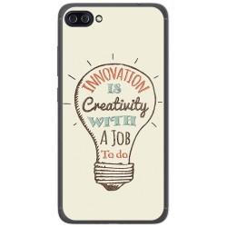 "Funda Gel Tpu para Asus Zenfone 4 Max 5.5"" Zc554Kl Diseño Creativity Dibujos"