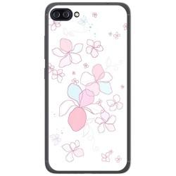 """Funda Gel Tpu para Asus Zenfone 4 Max 5.5"""" Zc554Kl Diseño Flores Minimal Dibujos"""