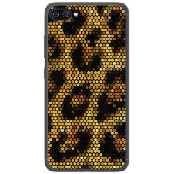 "Funda Gel Tpu para Asus Zenfone 4 Max 5.5"" Zc554Kl Diseño Leopardo Dibujos"