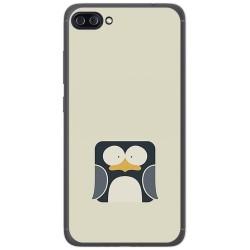 """Funda Gel Tpu para Asus Zenfone 4 Max 5.5"""" Zc554Kl Diseño Pingüino Dibujos"""