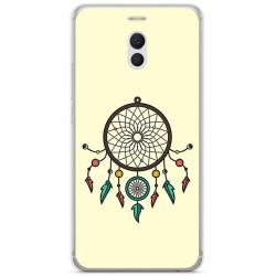 Funda Gel Tpu para Meizu M6 Note Diseño Atrapasueños Dibujos
