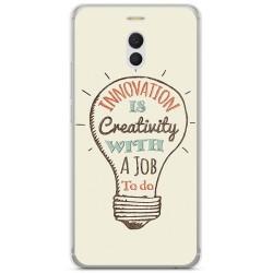 Funda Gel Tpu para Meizu M6 Note Diseño Creativity Dibujos