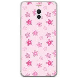 Funda Gel Tpu para Meizu M6 Note Diseño Flores Dibujos