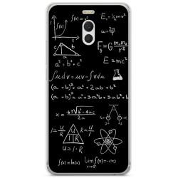 Funda Gel Tpu para Meizu M6 Note Diseño Formulas Dibujos