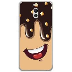 Funda Gel Tpu para Meizu M6 Note Diseño Helado Chocolate Dibujos