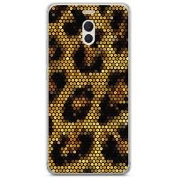 Funda Gel Tpu para Meizu M6 Note Diseño Leopardo Dibujos