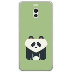 Funda Gel Tpu para Meizu M6 Note Diseño Panda Dibujos