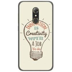 Funda Gel Tpu para Alcatel A7 (4G) Diseño Creativity Dibujos
