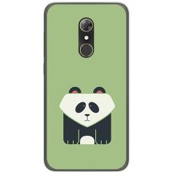 Funda Gel Tpu para Alcatel A7 (4G) Diseño Panda Dibujos