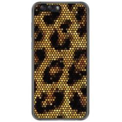 "Funda Gel Tpu para Asus Zenfone 4 5.5"" Ze554Kl Diseño Leopardo Dibujos"