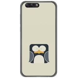 "Funda Gel Tpu para Asus Zenfone 4 5.5"" Ze554Kl Diseño Pingüino Dibujos"