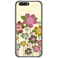 "Funda Gel Tpu para Asus Zenfone 4 5.5"" Ze554Kl Diseño Primavera En Flor  Dibujos"