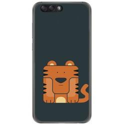"""Funda Gel Tpu para Asus Zenfone 4 5.5"""" Ze554Kl Diseño Tigre Dibujos"""